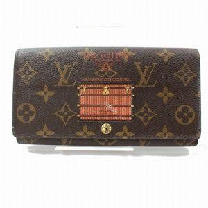 💯Auth Louis Vuitton Portefeuille Sarah Wallet